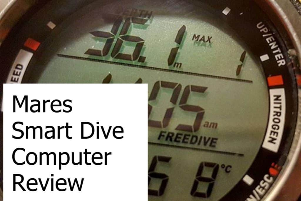 Review of the Mares Smart Dive Watch Computer