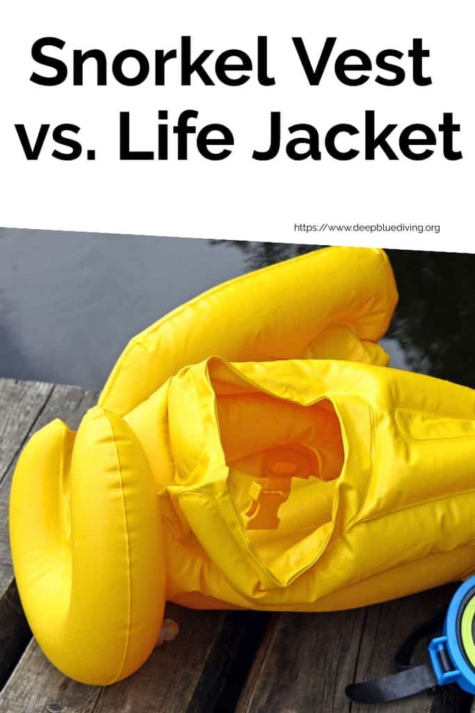 Comparing whether a vest or life jacket are the better options when you go snorkeling even for non-swimmers