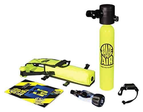 Spare Air Bottle and accessories in Yellow