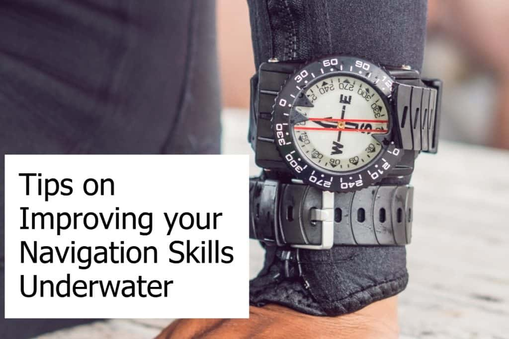 How to improve your navigation skills underwater with a compass