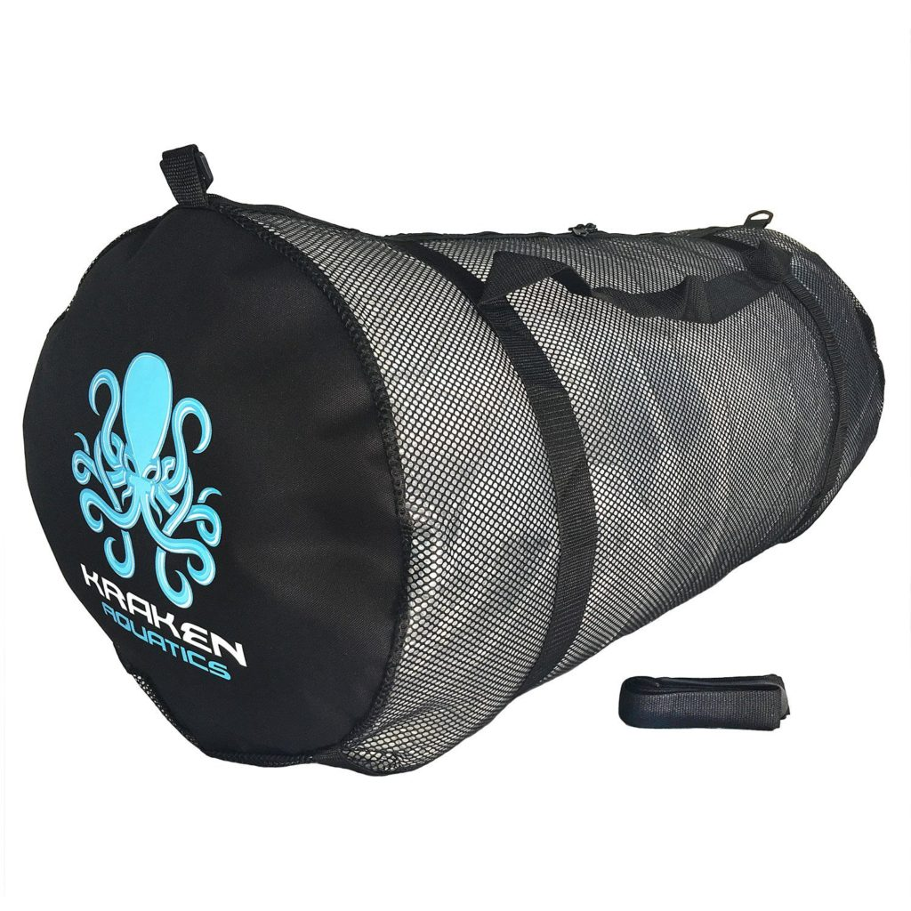 Kraken Aquatics Mesh Duffle Gear Bag+