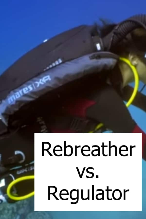 Differences between Scuba Regulator and Rebreather Diving