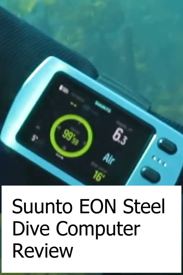 Review of the EON Steel Scuba Diving Computer from Suunto