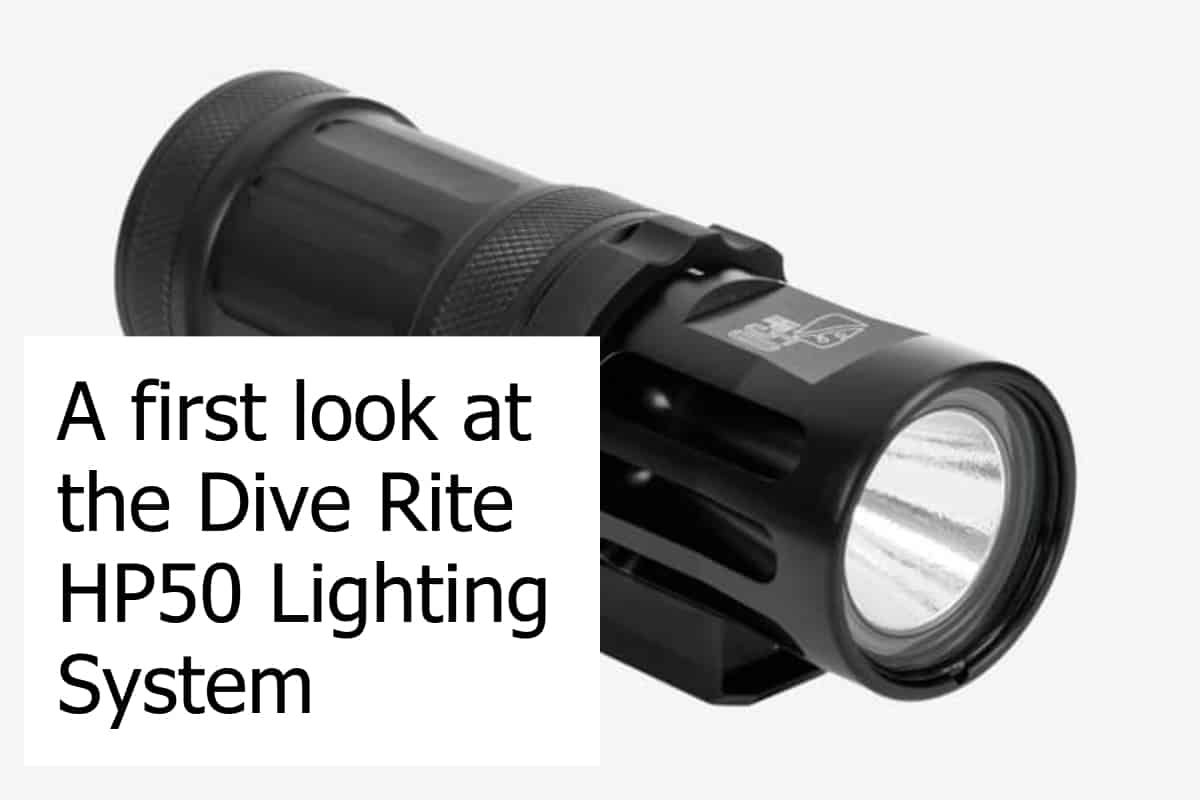 Dive Rite HP50 Lighting System