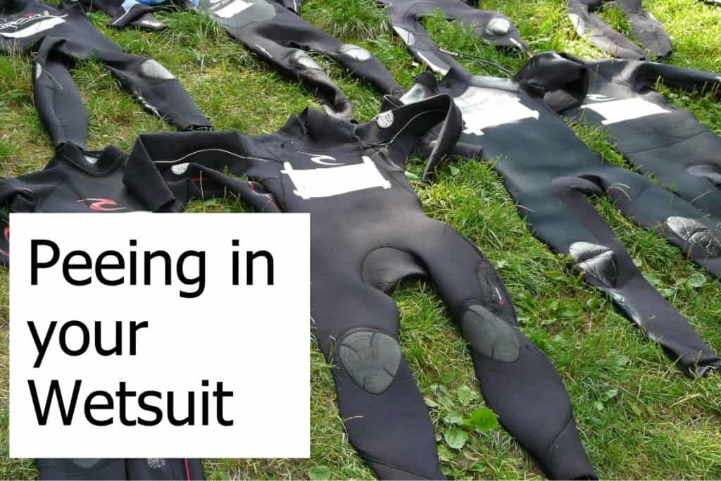 Can you pee in your wetsuit when you dive?