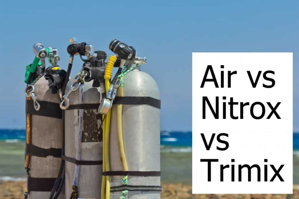 Diving with Nitrox or Trimix vs Air has become more common. Should you consider it?