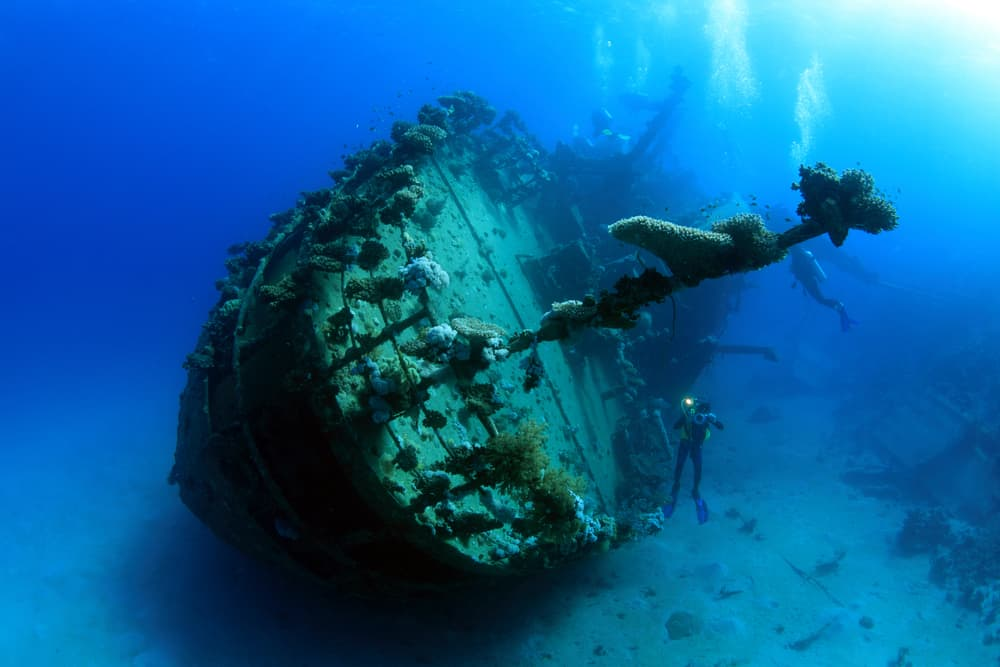 Diving a wreck can be amazing