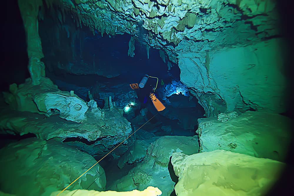 Cave diving - What is it