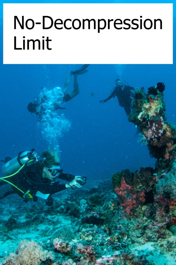 What do you need to know about No-Decompression Limit diving?