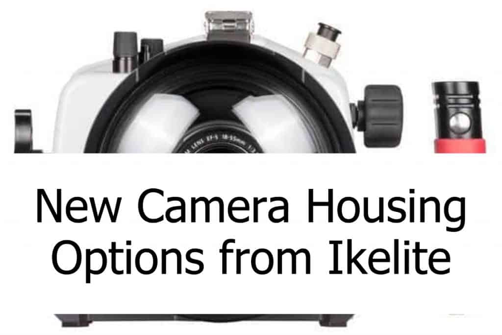Ikelite offers waterproof camera housings for scuba diving