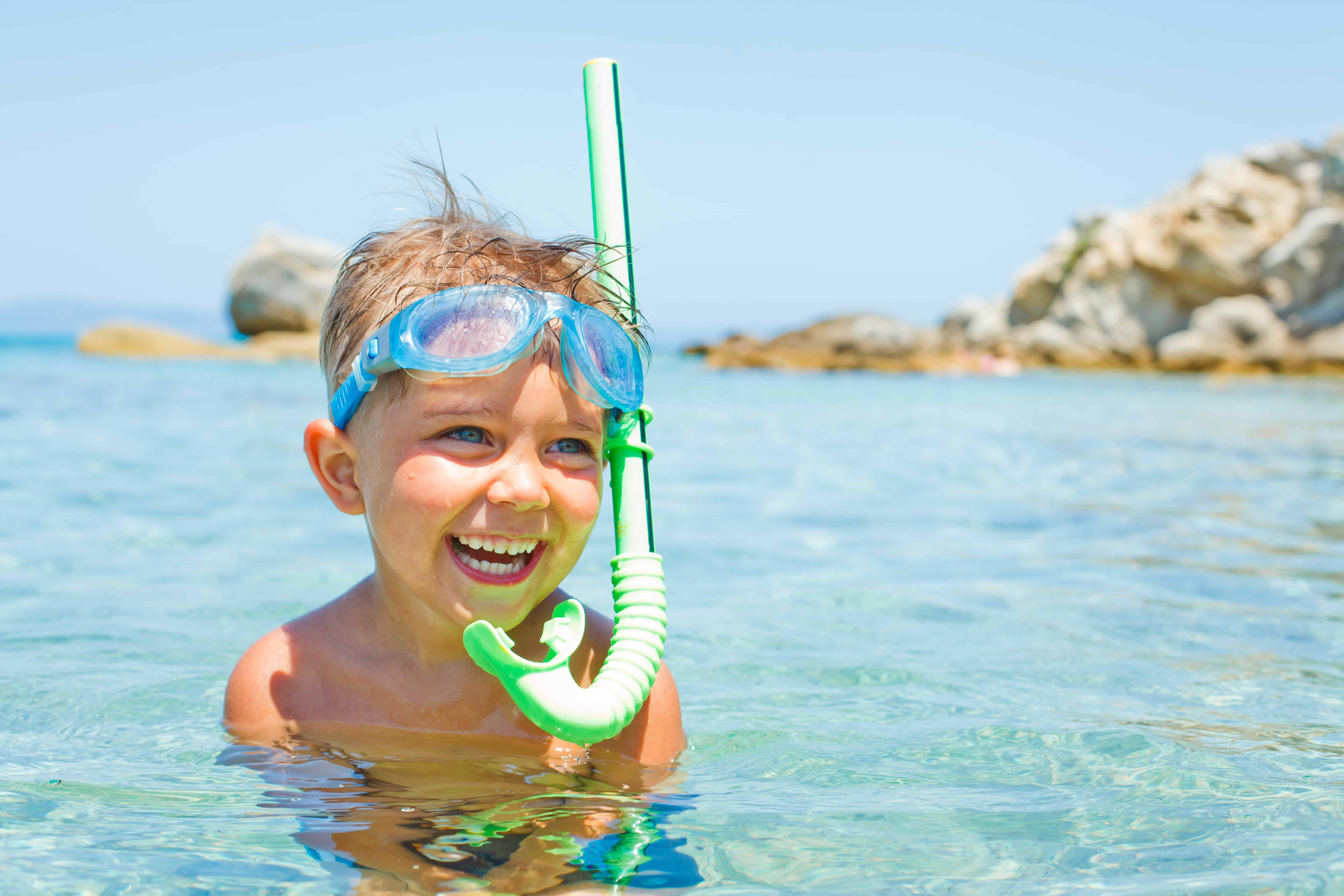 Snorkeling with your kids can be fun for the whole family