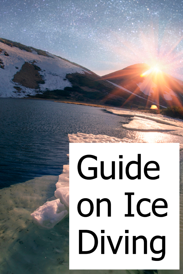 Guide on Ice Diving