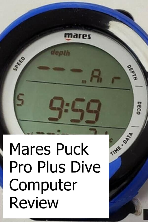 Review of the Mares Puck Pro Plus Dive Computer