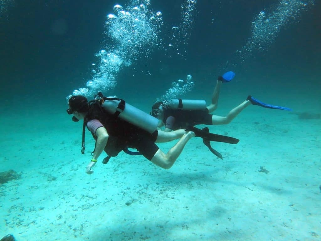 What do you have to consider when you find an unconscious diver