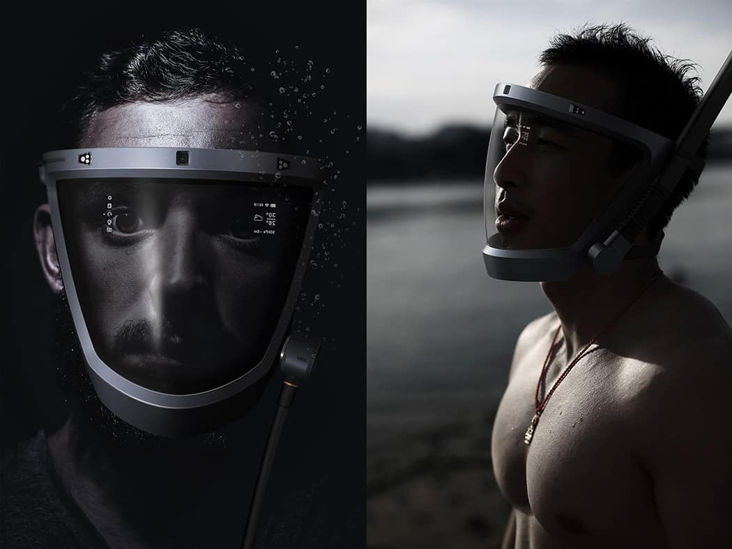 D-Mask Full Face Snorkel and Dive Mask