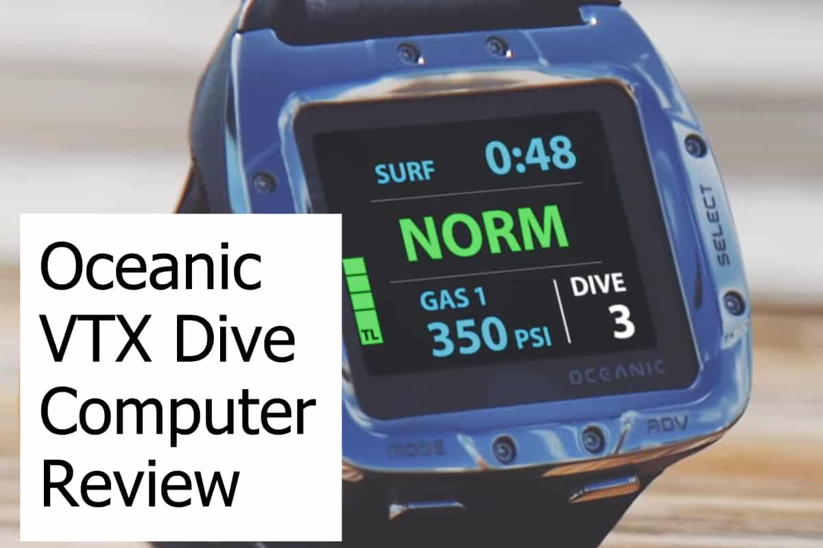 Review of the Oceanic VTX Dive Computer