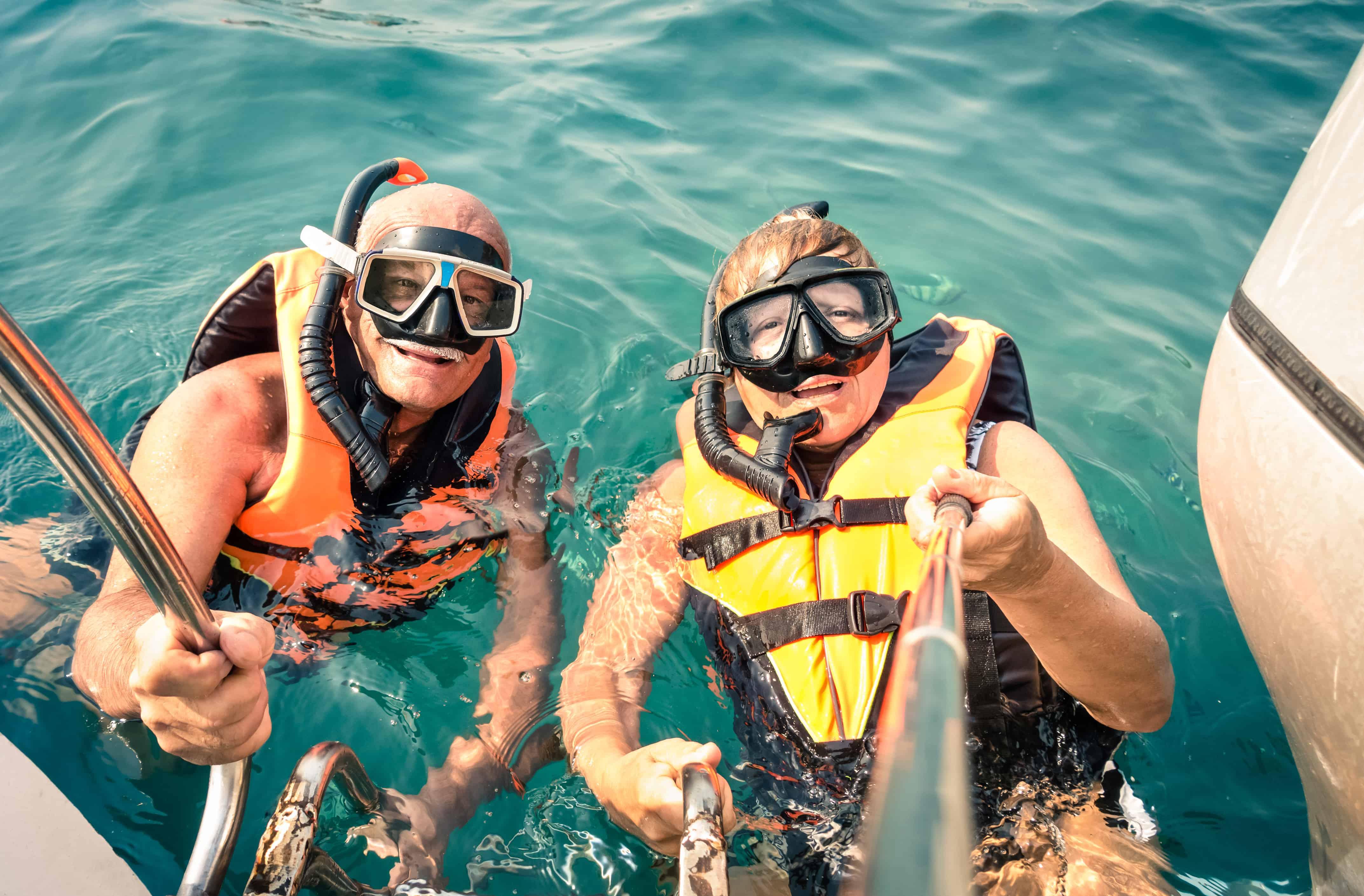 Using a Snorkel Vest