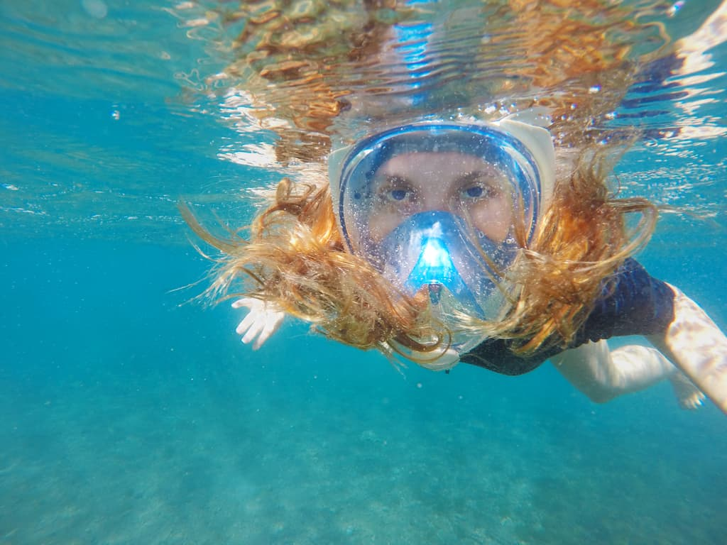 180 Degree View Snorkel Goggles
