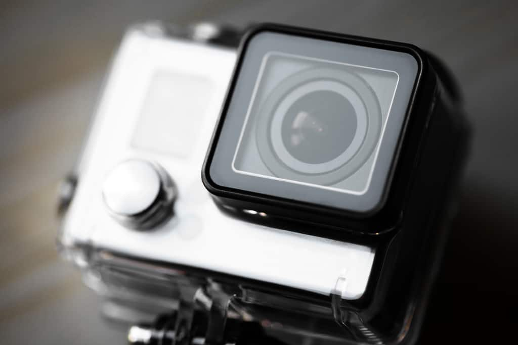 Action camera for snorkling