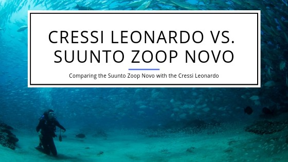 Suunto Zoop Novo compared to Cressi Leonardo