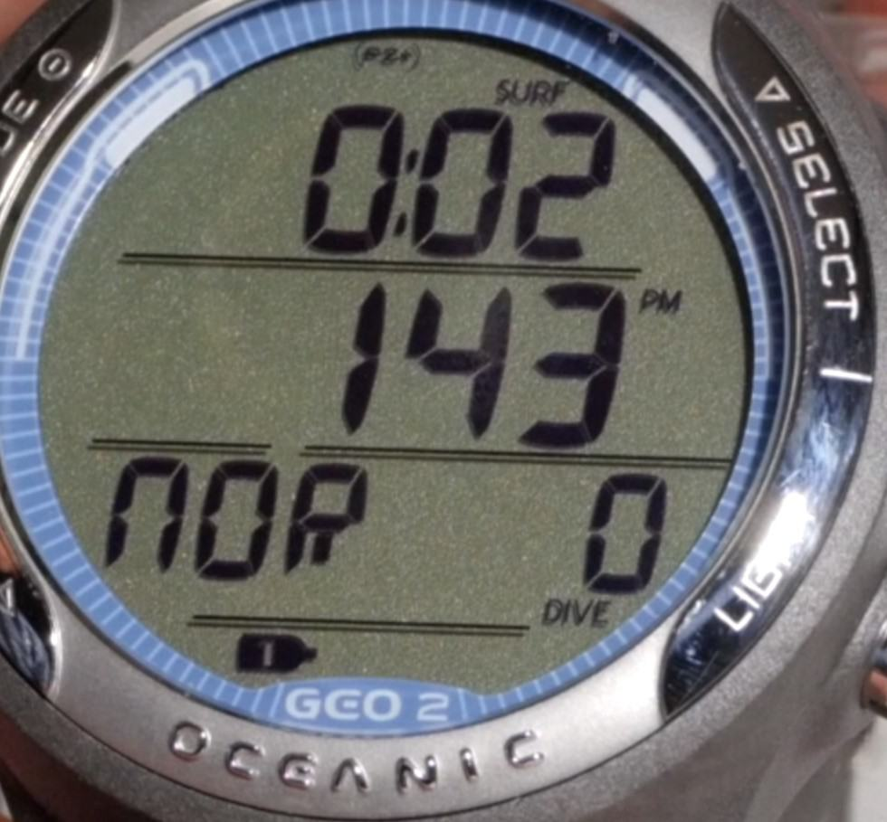 Oceanic Geo 2.0 Display Detail