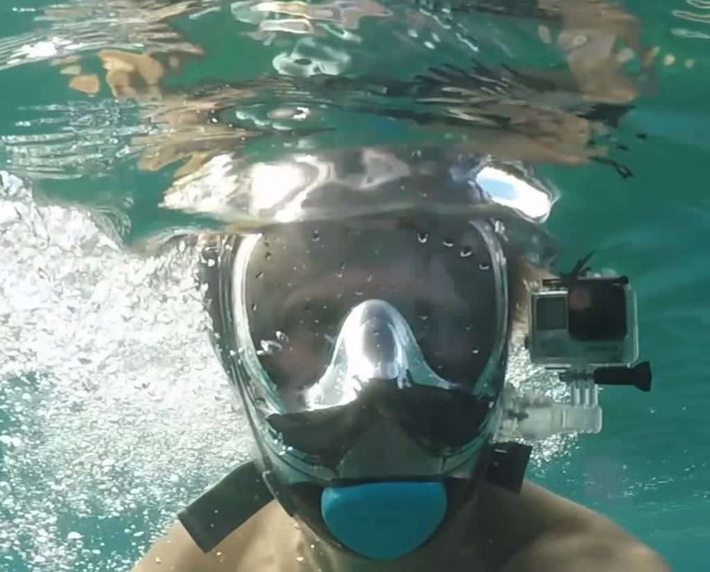 Seaview 180 V2 with GoPro camera
