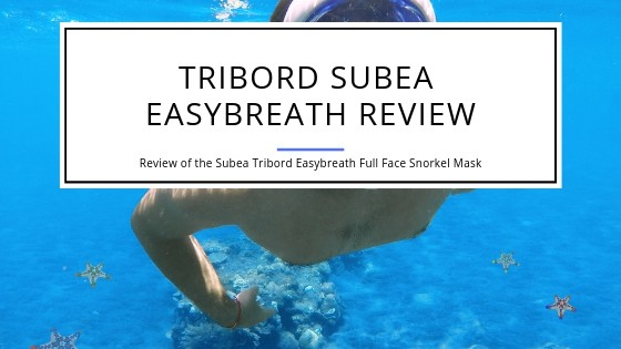 Review of the Tribord Subea Easybreath Snorkel Mask that covers your face.