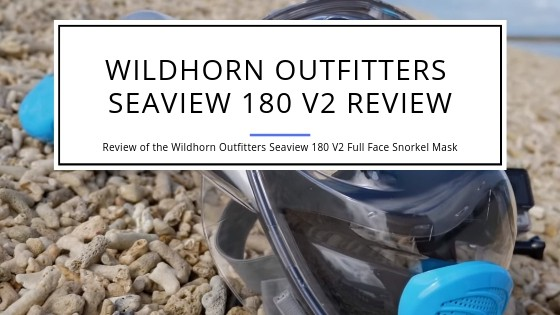 Wildhorn Outfitters Seaview 180 Degree V2 Full Face Snorkel Mask