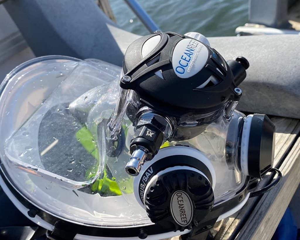 Neptune Integrated Dive Mask by Ocean Reef