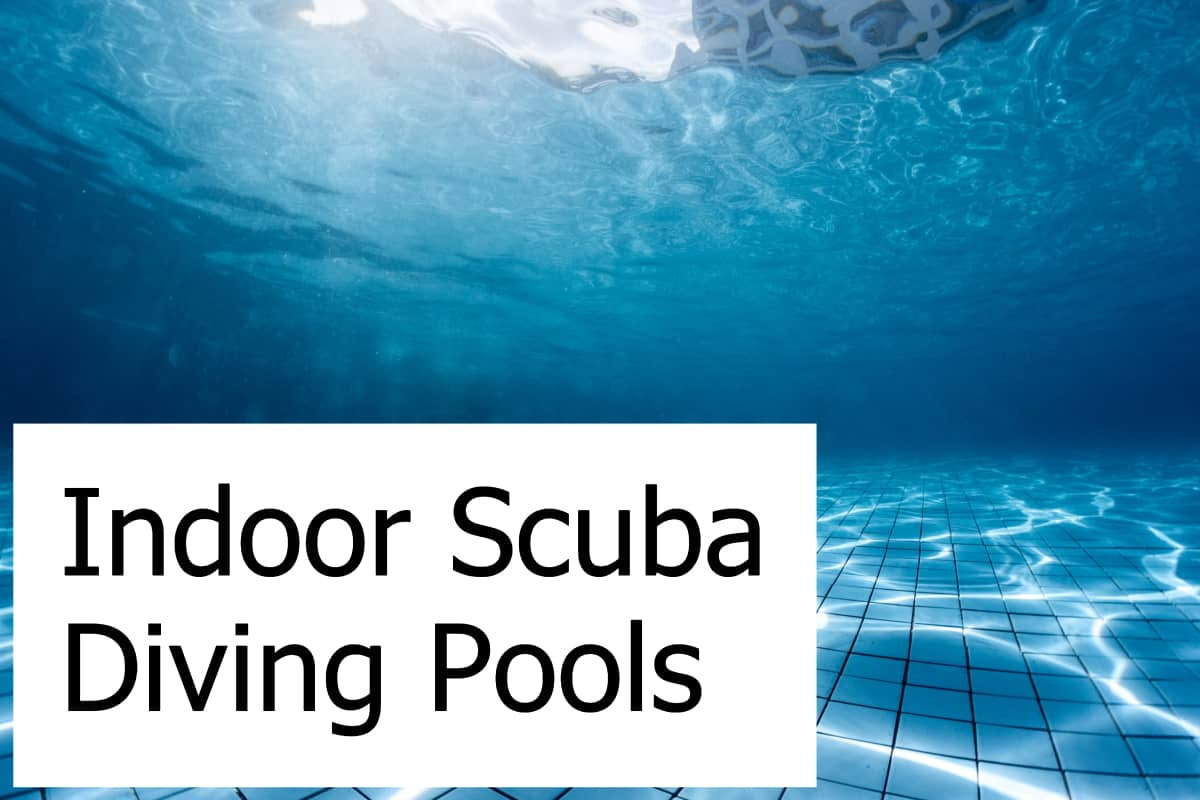 How deep can you dive in an indoor diving pool? Where are the deepest ones?