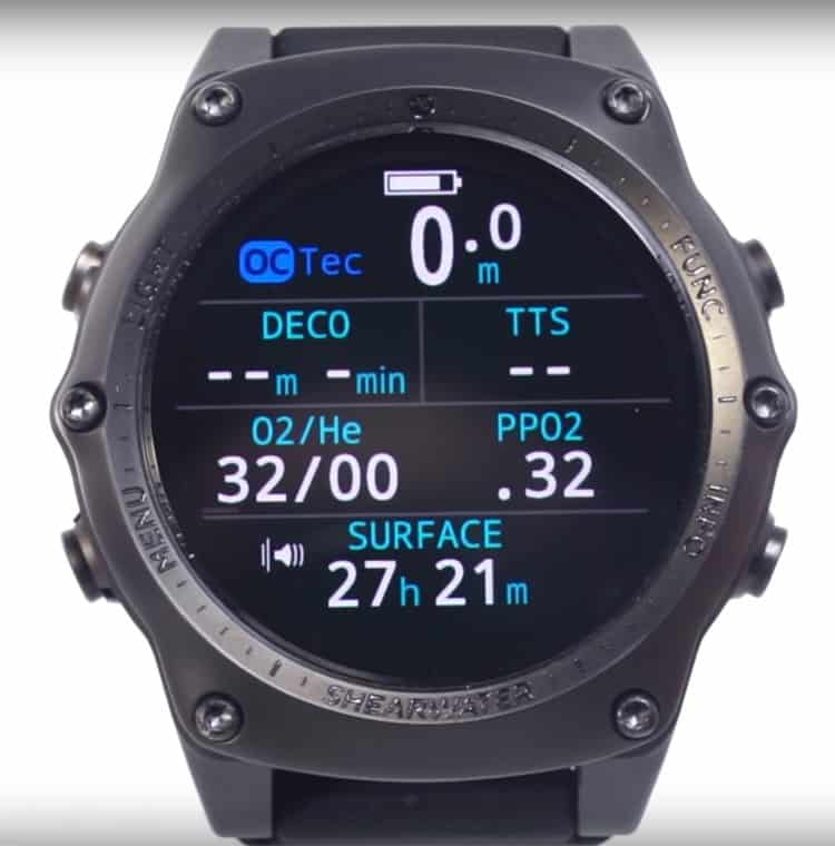 Shearwater Teric Dive Computer - Best Overall