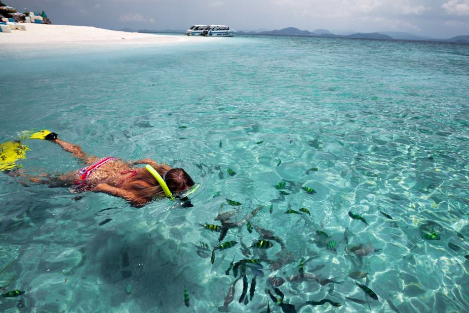 Snorkeling for non-swimmers