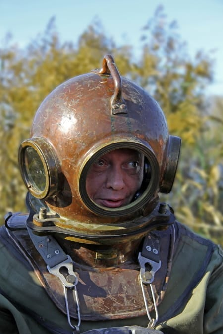 Diving Deep with an atmospheric suit