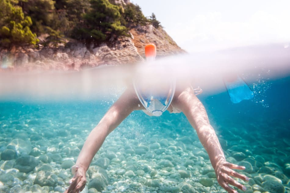 Are full-face snorkeling masks safe?