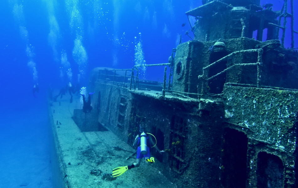 Wreck Diving in the Caribbean
