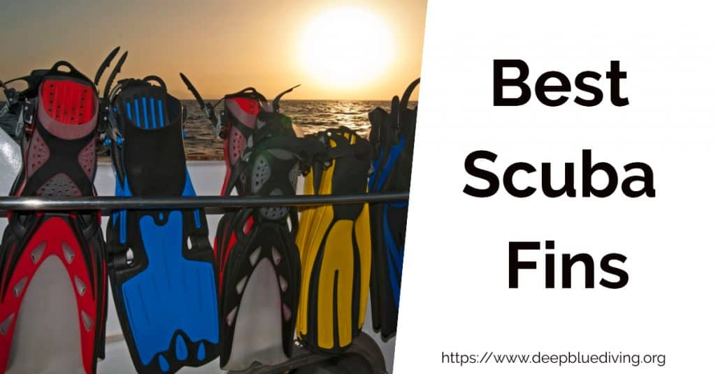 Guide and reviews of the best flippers for scuba diving and scuba divers