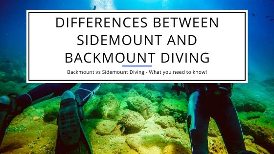 Differences between Sidemount and Backmount Diving