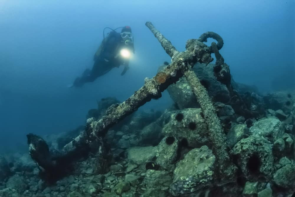 Bahamas Wreck Diving