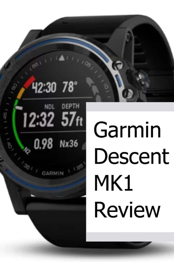 Garmin Descent MK1 Review P