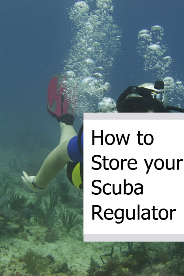 How to Store your Scuba Regulator Pin