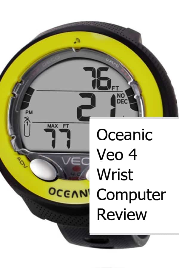 Oceanic Veo 4 Wrist Computer Review Pin