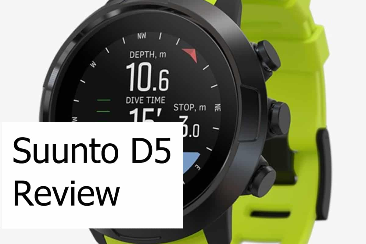 Suunto D5 Scuba Dive Computer Review