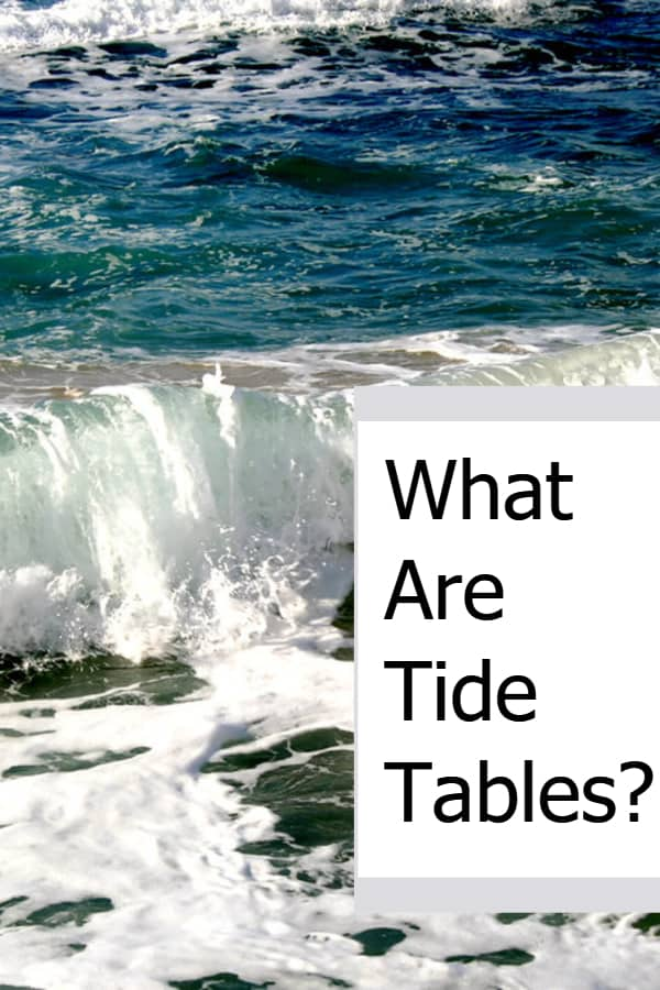 What Are Tide Tables And Do You Need To Know About Them When Diving?