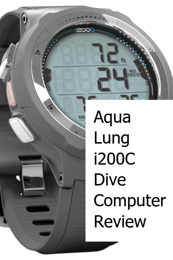 Aqua Lung i200C Dive Computer Review - Pin
