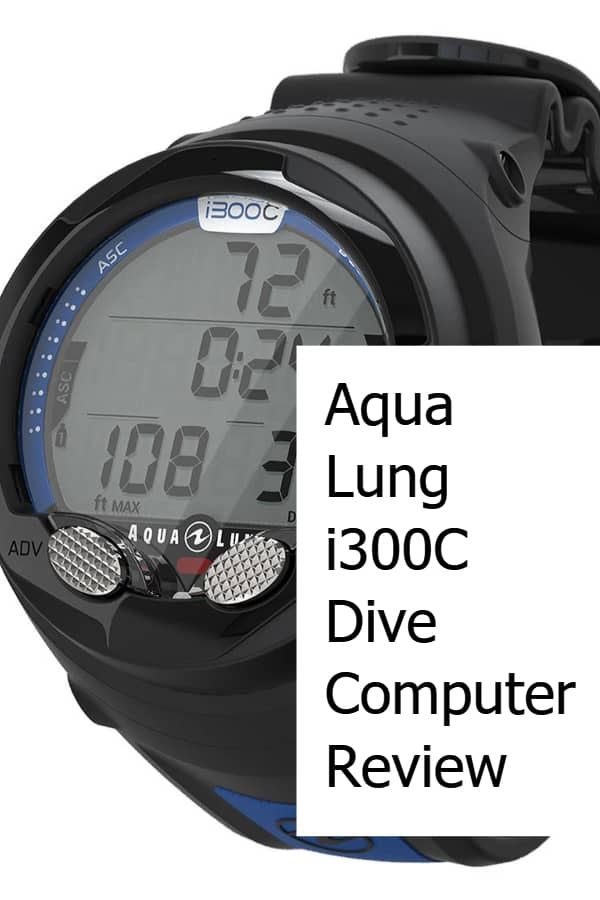 Aqua Lung i300C Dive Computer Review Pin