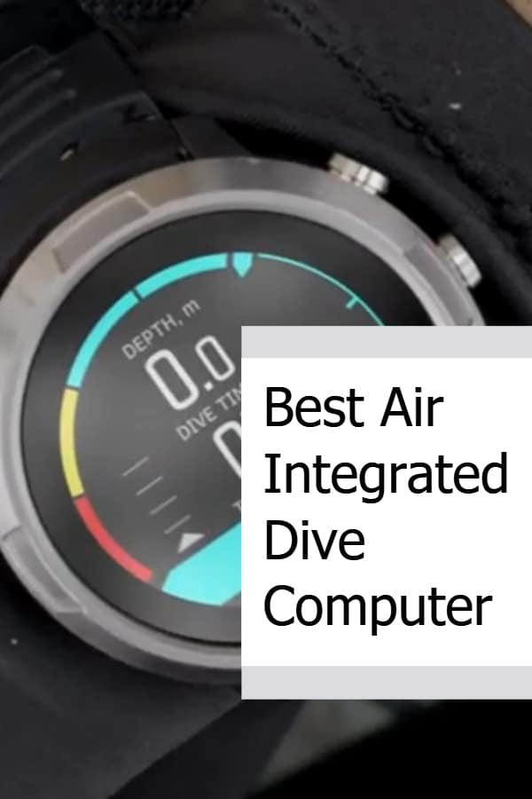 Best Air Integrated Dive Computer Pin