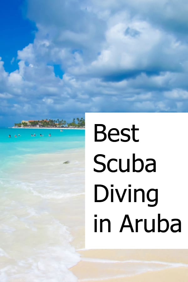 Best Scuba Diving in Aruba Pin