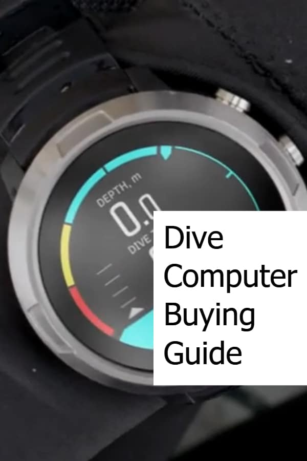 Dive Computer Buying Guide - Pin