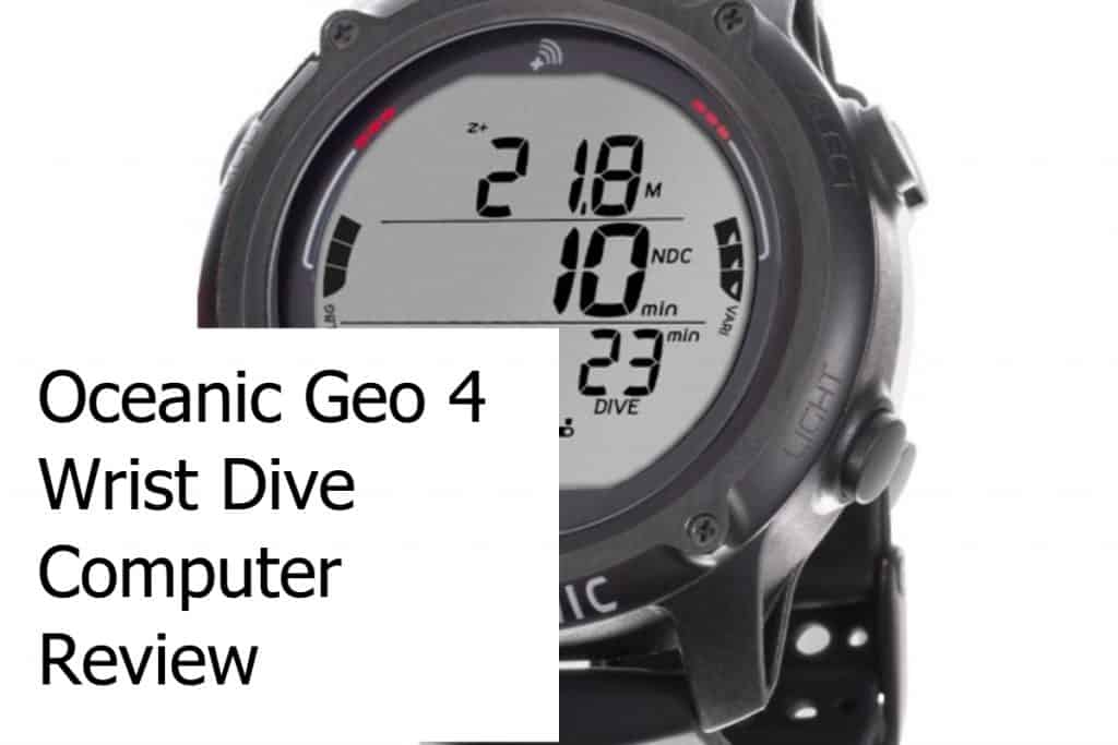 Oceanic Geo 4 Wrist Dive Computer Review