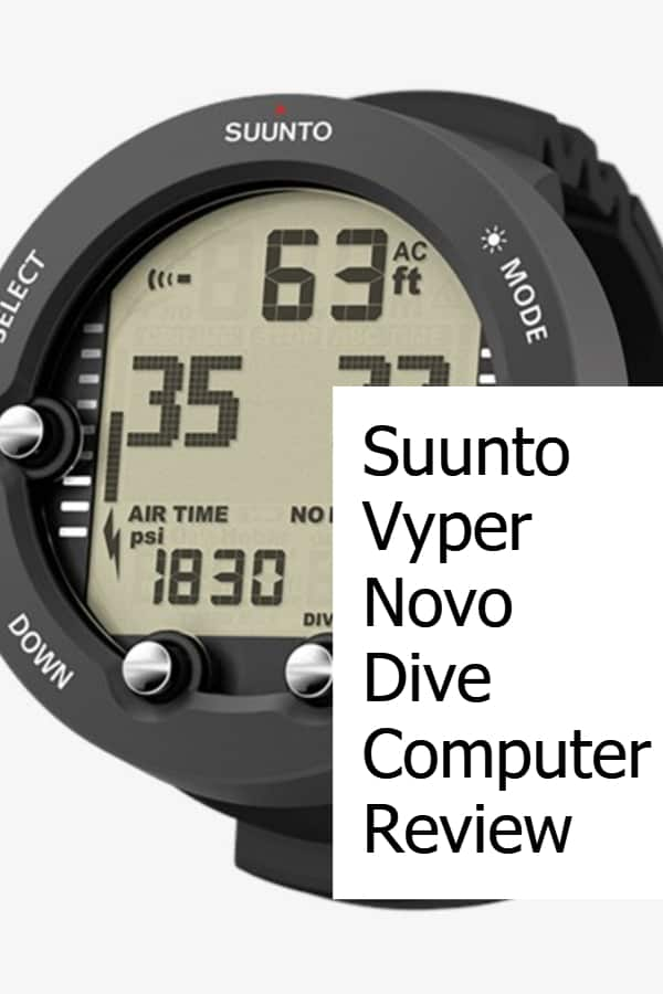 Review of the Suunto Vyper Novo Scuba Diving Computer